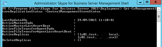 Skype for Business – Standard Edition Pool Failover Disaster
