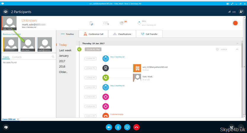 Boss / Secretary Scenarios with Anywhere 365 – Part 2 | Skype for